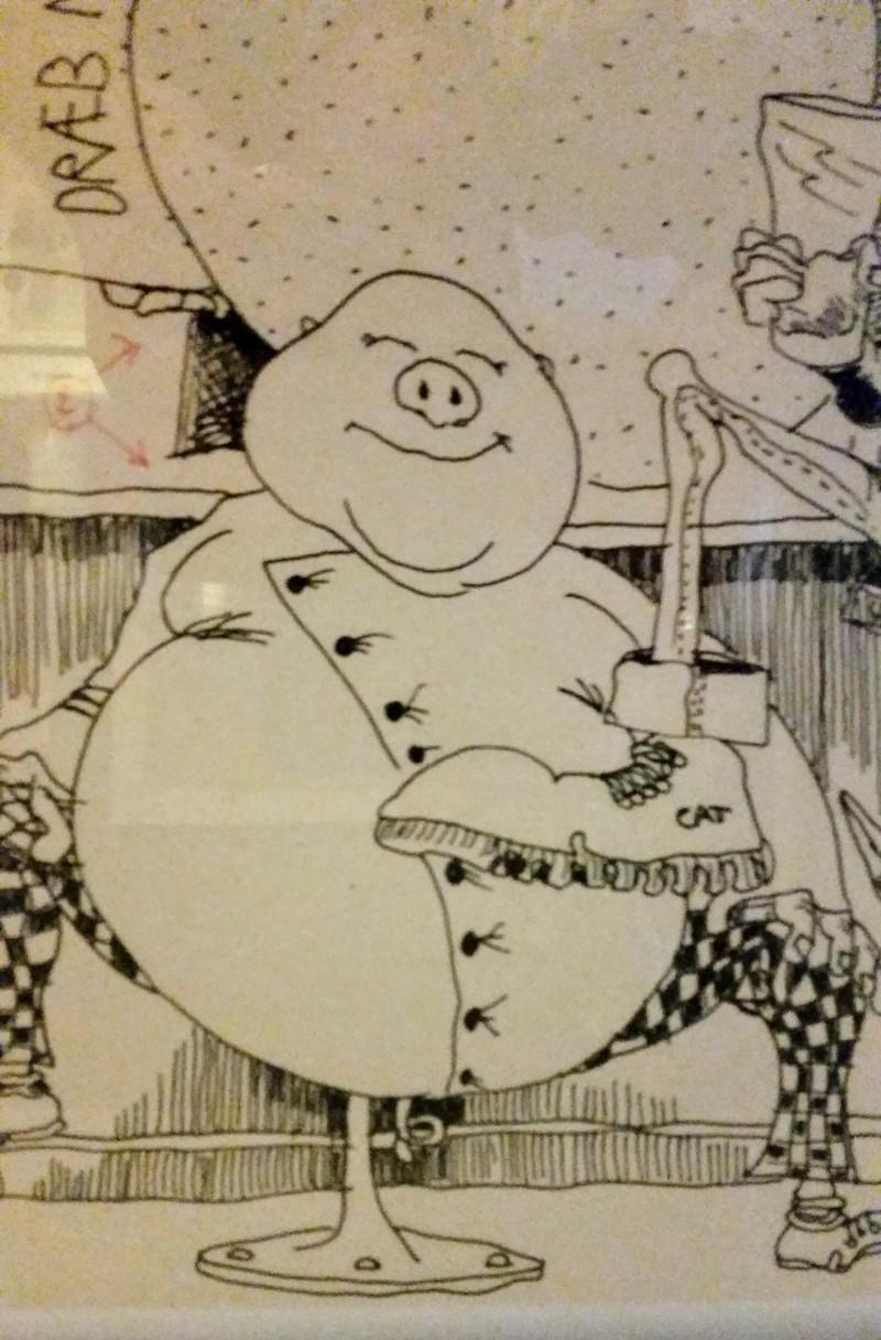den-roede-paa-byens-kro-1996-tommy-tegner