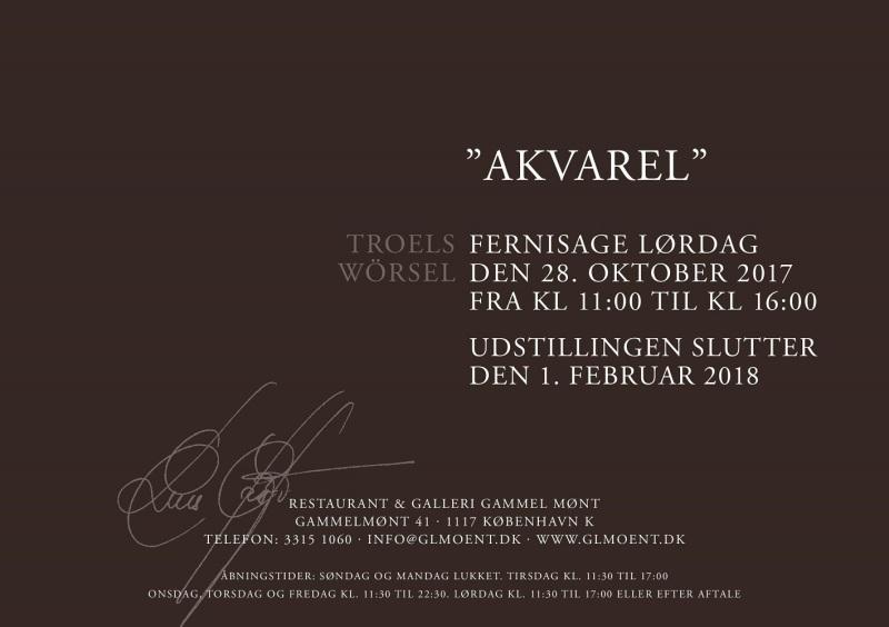 Invitation - Troels Wörsel DEN RØDE